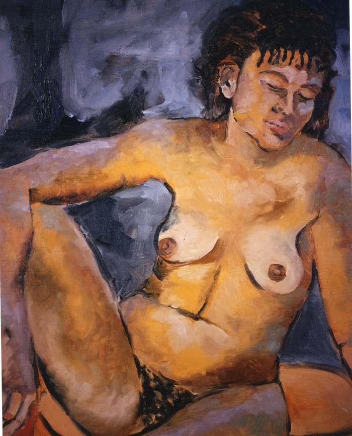 Portrait-Seated-Woman