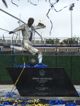 Bronze sculpture of David Beckham at LA Galaxy StubHub Center